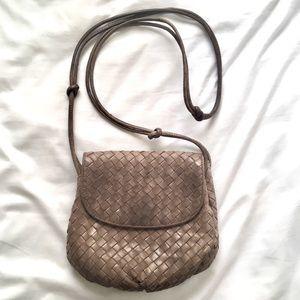 Bottega Veneta Vintage Woven Crossbody Bag